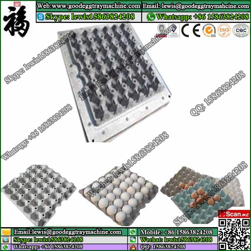Plastic mould for egg tray