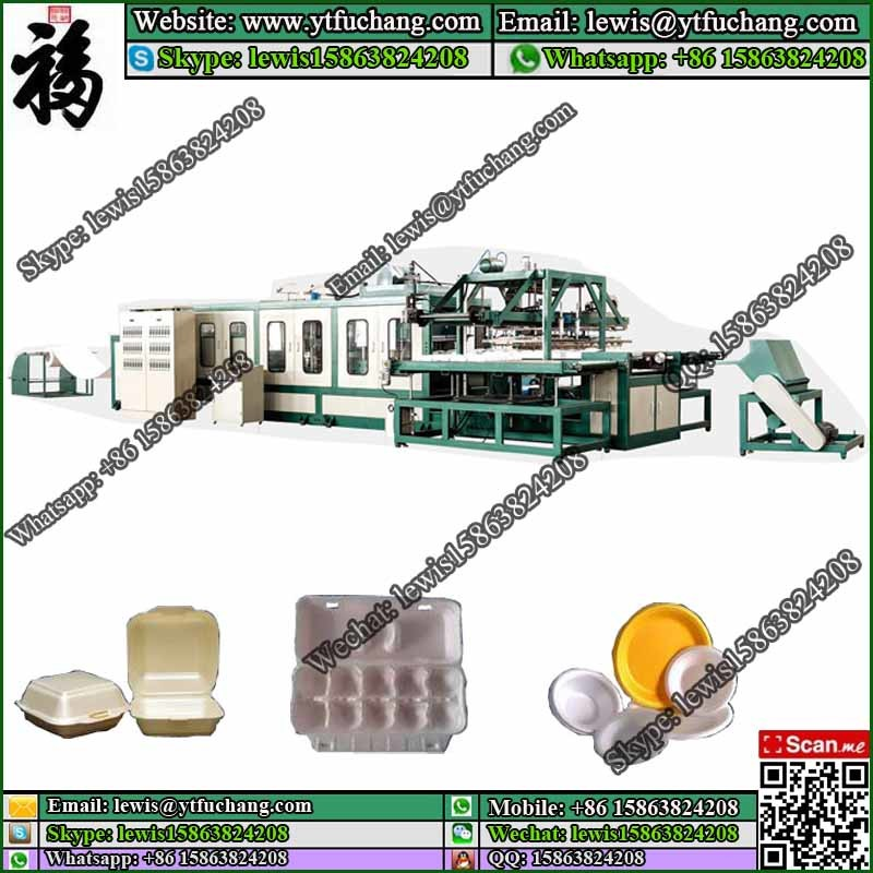 PS Foam Sheet Machine For Lunch Box Ps Fast Food Container Making Machinery