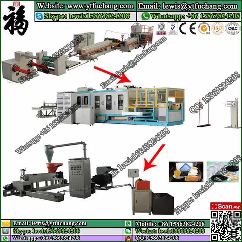 FC-90 EPS foaming machine PS Fast Food Container Making Machinery